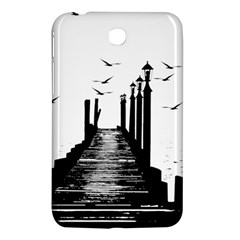 The Pier The Seagulls Sea Graphics Samsung Galaxy Tab 3 (7 ) P3200 Hardshell Case