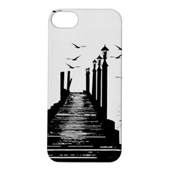 The Pier The Seagulls Sea Graphics Apple Iphone 5s/ Se Hardshell Case