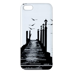 The Pier The Seagulls Sea Graphics Iphone 5s/ Se Premium Hardshell Case