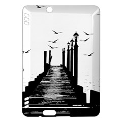 The Pier The Seagulls Sea Graphics Kindle Fire Hdx Hardshell Case