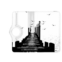 The Pier The Seagulls Sea Graphics Kindle Fire Hdx 8 9  Flip 360 Case