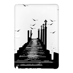 The Pier The Seagulls Sea Graphics Samsung Galaxy Tab Pro 10 1 Hardshell Case