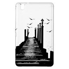 The Pier The Seagulls Sea Graphics Samsung Galaxy Tab Pro 8 4 Hardshell Case