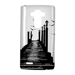 The Pier The Seagulls Sea Graphics Lg G4 Hardshell Case