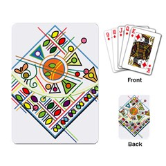 Vector Icon Symbol Sign Design Playing Card