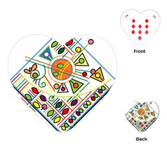 Vector Icon Symbol Sign Design Playing Cards (heart)