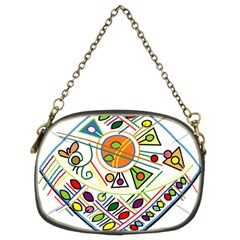 Vector Icon Symbol Sign Design Chain Purses (two Sides)
