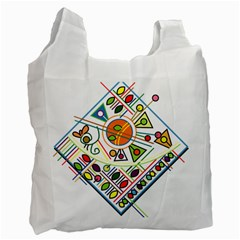 Vector Icon Symbol Sign Design Recycle Bag (two Side)