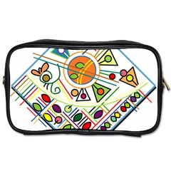 Vector Icon Symbol Sign Design Toiletries Bags 2 Side