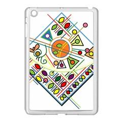 Vector Icon Symbol Sign Design Apple Ipad Mini Case (white)