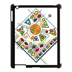 Vector Icon Symbol Sign Design Apple Ipad 3/4 Case (black)
