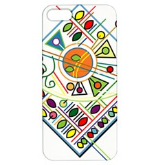 Vector Icon Symbol Sign Design Apple Iphone 5 Hardshell Case With Stand
