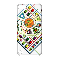 Vector Icon Symbol Sign Design Apple Ipod Touch 5 Hardshell Case With Stand