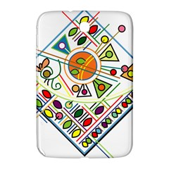 Vector Icon Symbol Sign Design Samsung Galaxy Note 8 0 N5100 Hardshell Case
