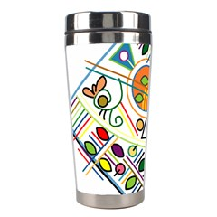 Vector Icon Symbol Sign Design Stainless Steel Travel Tumblers