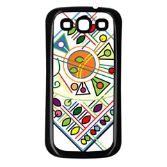 Vector Icon Symbol Sign Design Samsung Galaxy S3 Back Case (black)