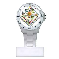 Vector Icon Symbol Sign Design Plastic Nurses Watch