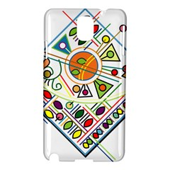 Vector Icon Symbol Sign Design Samsung Galaxy Note 3 N9005 Hardshell Case