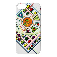 Vector Icon Symbol Sign Design Apple Iphone 5s/ Se Hardshell Case