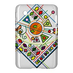 Vector Icon Symbol Sign Design Samsung Galaxy Tab 2 (7 ) P3100 Hardshell Case