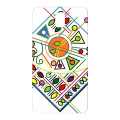 Vector Icon Symbol Sign Design Samsung Galaxy Note 3 N9005 Hardshell Back Case