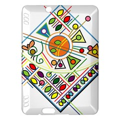 Vector Icon Symbol Sign Design Kindle Fire Hdx Hardshell Case