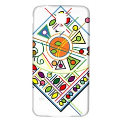 Vector Icon Symbol Sign Design Samsung Galaxy S5 Back Case (white)