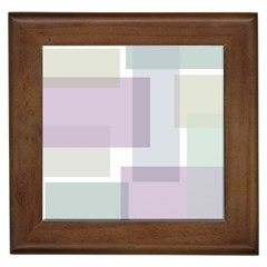 Abstract Background Pattern Design Framed Tiles