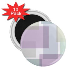 Abstract Background Pattern Design 2.25  Magnets (10 pack)