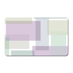 Abstract Background Pattern Design Magnet (Rectangular)