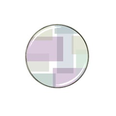 Abstract Background Pattern Design Hat Clip Ball Marker
