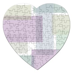 Abstract Background Pattern Design Jigsaw Puzzle (heart)