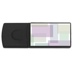 Abstract Background Pattern Design USB Flash Drive Rectangular (4 GB)