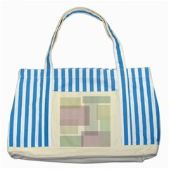 Abstract Background Pattern Design Striped Blue Tote Bag