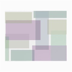 Abstract Background Pattern Design Small Glasses Cloth (2 Side)