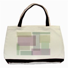 Abstract Background Pattern Design Basic Tote Bag (Two Sides)