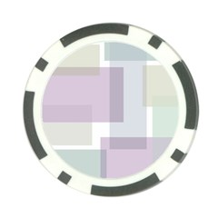 Abstract Background Pattern Design Poker Chip Card Guard
