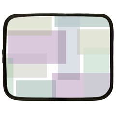 Abstract Background Pattern Design Netbook Case (large)