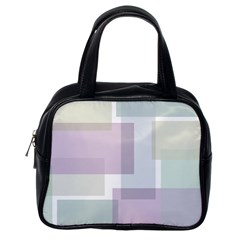 Abstract Background Pattern Design Classic Handbags (one Side)