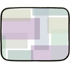 Abstract Background Pattern Design Double Sided Fleece Blanket (Mini)