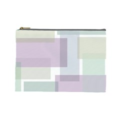 Abstract Background Pattern Design Cosmetic Bag (large)