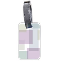 Abstract Background Pattern Design Luggage Tags (One Side)