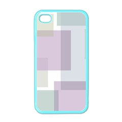 Abstract Background Pattern Design Apple Iphone 4 Case (color)