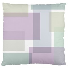 Abstract Background Pattern Design Large Cushion Case (one Side)