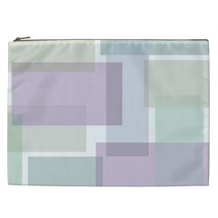 Abstract Background Pattern Design Cosmetic Bag (XXL)