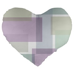 Abstract Background Pattern Design Large 19  Premium Heart Shape Cushions