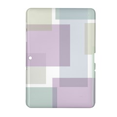 Abstract Background Pattern Design Samsung Galaxy Tab 2 (10.1 ) P5100 Hardshell Case