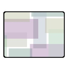Abstract Background Pattern Design Double Sided Fleece Blanket (small)