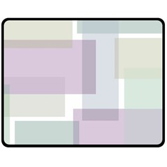 Abstract Background Pattern Design Double Sided Fleece Blanket (medium)