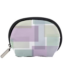 Abstract Background Pattern Design Accessory Pouches (Small)
